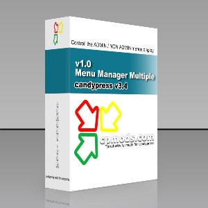 Admin/NonAdmin Menu Manager Multiple CP v4.1